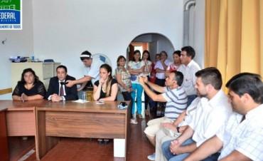 Chapino participó del acto de asunción del nuevo coordinador de Copnaf