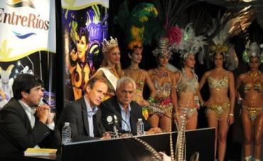 Se presentaron en Buenos Aires los carnavales entrerrianos