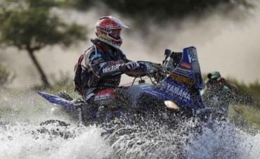 Marcos Patronelli ganó la cuarta etapa del Dakar y alcanzó el tercer lugar