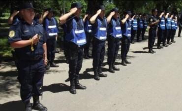 En Federal se conocieron los ascensos de suboficiales de la Departamental de Policía