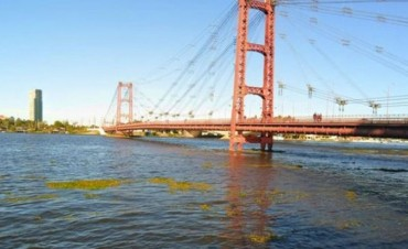 Se produjo un leve descenso de los ríos Paraná y Salado en Santa Fe