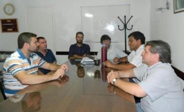 El Intendente se reunió con el nuevo jefe de la zonal II de Vialidad