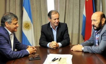 Bordet articuló la emergencia hídrica con los gobernadores de Chaco y Formosa