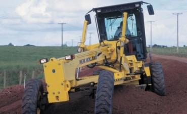 Realizan trabajos de mantenimiento y conservación en las diferentes rutas del Dpto. Federal.