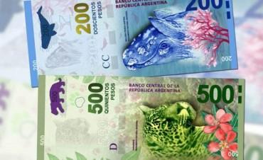 El Gobierno emitirá billetes de $200, $500 y $1.000