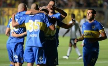 Boca goleó a Emelec en su primer partido del año, de la mano de Messidoro