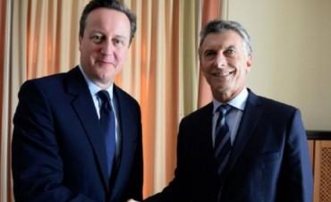 Macri se reunió con el primer ministro británico para hablar sobre la soberanía de las Malvinas