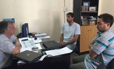 El Municipio se reunió con la secretaria de deportes de la provincia