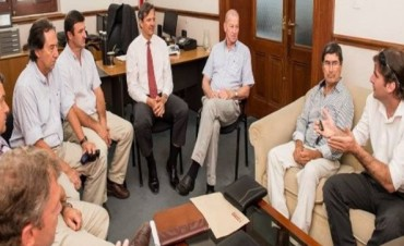 Bahl abordó con representantes de Federación la situación de la Cafesg