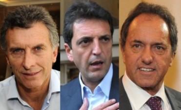 Macri quiere a Massa como presidente del PJ y Scioli le salió al cruce