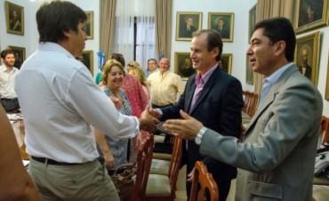 Bordet se reunió con los Directores Departamentales de Escuelas