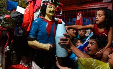 Unas 250.000 personas celebraron el día del 'Gauchito Gil' en Corrientes