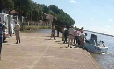 Choque de lancha: Hallaron un cuerpo en el río y sería uno de los desaparecidos