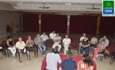 REUNIÓN DE LA TARJETA SOCIAL EN FEDERAL