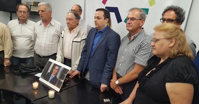 Encienden velas en homenaje a Nisman