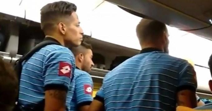 Terror en los aires: Belgrano se bajó del avión que iba a Chile