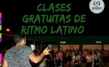 CONTINÚAN LAS CLASES DE RITMO LATINO