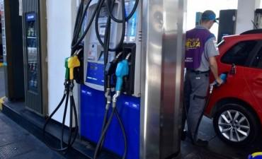Aumentó un seis por ciento el precio de los combustibles