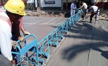 Cafesg financiara obras de cordón cuneta y desagües pluviales en Federal