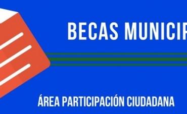 ENTREGA DE FORMULARIOS PARA LA RENOVACIÓN DE BECAS MUNICIPALES
