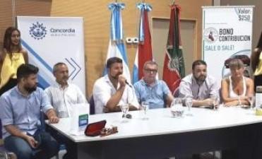 PRESENTACIÓN DEL FESTIVAL EN CONCORDIA Y REUNIÓN CON EL INTENDENTE CRESTO