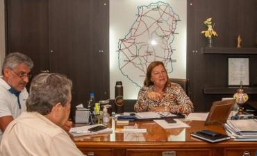 Coordinan el inicio de la obra de pavimentación entre Oro Verde y Tezanos Pintos
