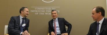 Bordet interesó a empresarios mundiales para invertir en infraestructura de la provincia