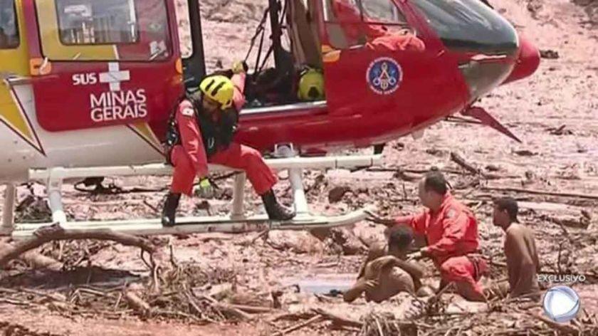 Tragedia en Brasil: una represa colapsó y hay al menos 200 desaparecidos