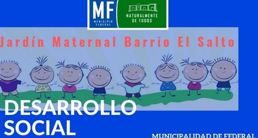 PRE-INSCRIPCIONES AL JARDÍN MATERNAL DE BARRIO SALTO