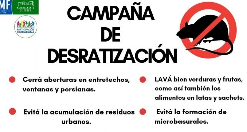 CAMAPAÑA DE DISTRIBUCIÓN DE CEBOS RATICIDAS