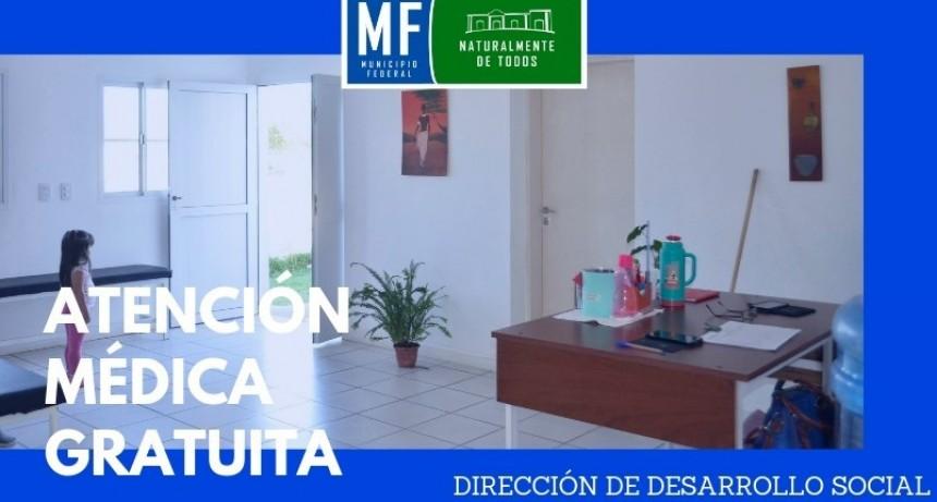 ATENCIÓN MÉDICA GRATUITA EN BARRIO EL SALTO Y PARAJE LAS DELICIAS