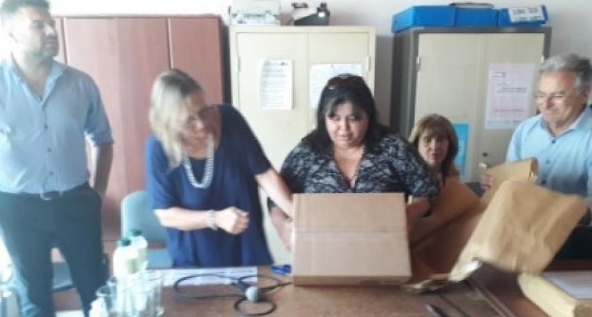 Apertura de sobres de licitación para construcción nueva residencia socio-educativa del COPNAF