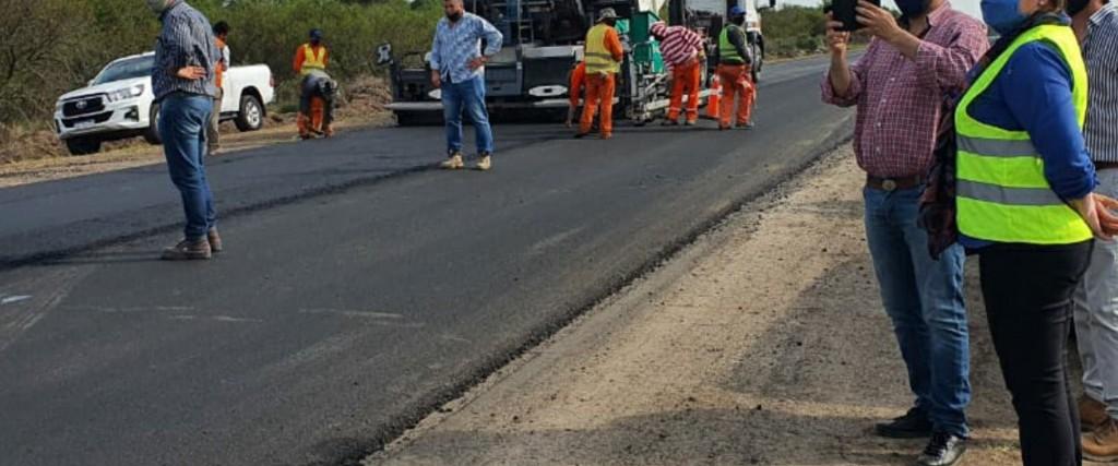 Avanza la rehabilitación de la ruta provincial N° 6