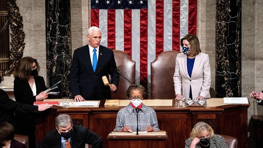 Trump dijo que acepta el resultado y empieza la transición.  El Congreso de Estados Unidos ratificó la victoria de Joe Biden