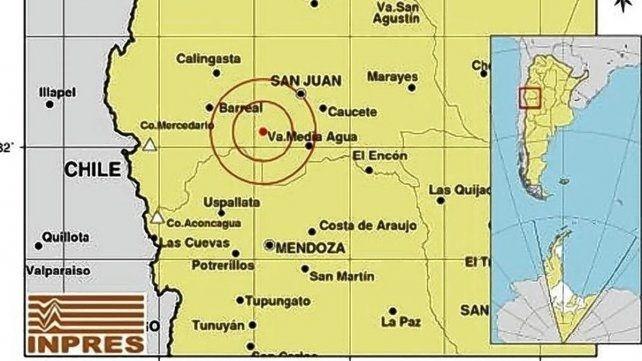Sismo en San Juan se sintió en Entre Ríos