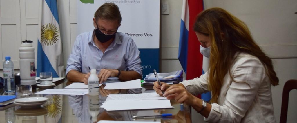 Entre Ríos firmó un convenio con Nación para promover la Economía del Conocimiento