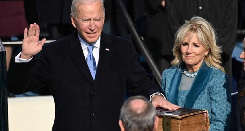 """Joe Biden dio su discurso inaugural como presidente de los Estados Unidos: """"La democracia ha prevalecido"""""""