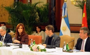 Empresas chinas explicaron a la Presidenta las inversiones que realizan en la provincia de Entre Ríos