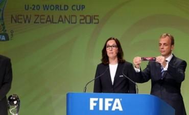 Mundial de Nueva Zelanda: sorteo benévolo para el Sub 20