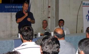 En Federal: Gustavo Bordet se reunió con distintos gremios Municipales de la provincia