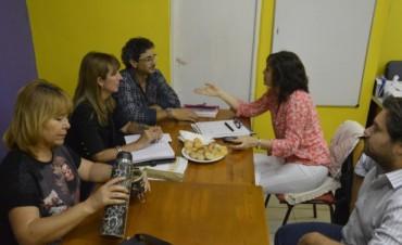 Autoridades del C.G.E. se reunieron en la Departamental de Escuelas