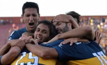 Boca superó a Palestino en su debut en la Copa Libertadores