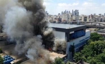 Las causas del incendio en canal 13 y TN