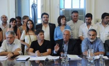 Debate decisivo en el FpV para mantener la unidad del bloque de Diputados