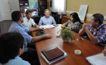 Benedetto se reunió con la senadora Miranda y el intendente Chapino