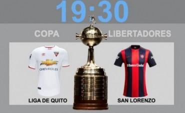 El sueño copero de San Lorenzo comienza en la altura de Quito