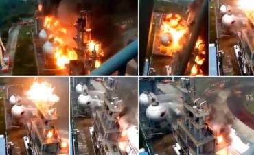 Así fue la explosión de la central nuclear en Francia