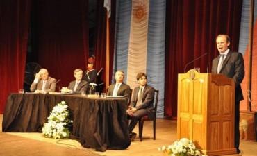 MAÑANA DARA, EL GOBERNADOR GUSTAVO BORDET- SU MENSAJE ANUAL EN LA LEGISATURAS