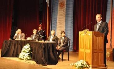 Bordet anunció la reforma judicial y la reforma política