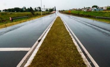 Desde Vialidad recomendaron transitar con precaución en rutas de la provincia